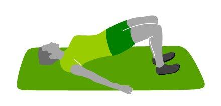Bodyweight Exercises For Beginners bridges
