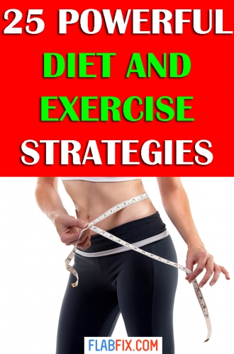 In this article, you will discover powerful diet and exercise strategies to transform your body for good #exercise #diet #flabfix