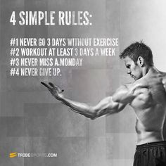 workout rules