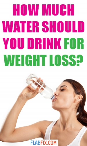 This article will show you how much water you should drink to lose weight fast #lose #weight #loss #drink #water #flabfix