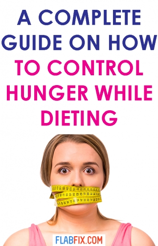 In this article, you will discover simple tricks you can use to control hunger while dieting #hunger #dieting #flabfix