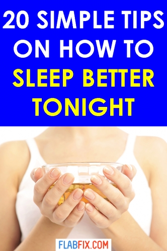 Follow the simple tips in this article to get quality sleep tonight #sleep #quality #flabfix