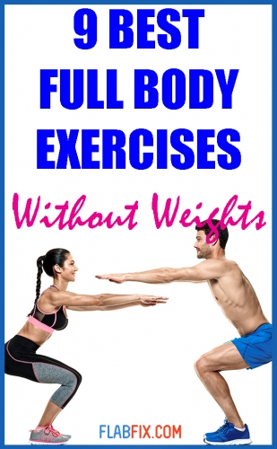 In this article, you will discover the best full body exercises to build muscle without weights #full #body #exercises #flabfix