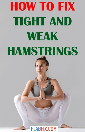 In this article you will discover how to fix tight and weak hamstrings fast #tight #weak #hamstrings #flabfix