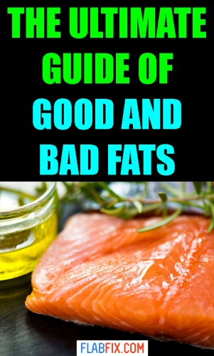 This article will show you everything you need to know about good and bad fats #good #bad #fats #flabfix