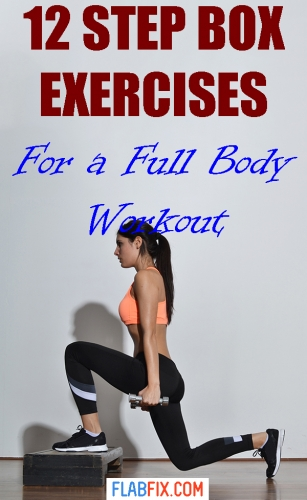 This article will show you the best step box exercises for a full body workout #step #box #exercises #full #body #flabfix