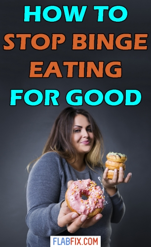 In this article, you will discover how to get rid of binge eating for good #binge #eating #flabfix