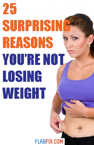 If you've not been losing weight, this article will show you surprising reasons you're not losing weight #not #Losing #weight #flabfix