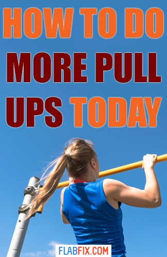 Read this article to discover how to do your first pull up and then increase your reps #pull #ups #guide #flabfix