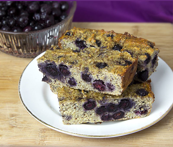 Banana and Blueberry Protein Bars