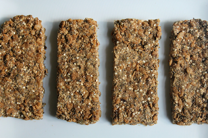 Coffee Quinoa Protein Bars