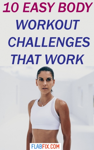In this article, you will discover bodyweight workout challenges that can make you fitter #bodyweight #workout #challenges #flabfix