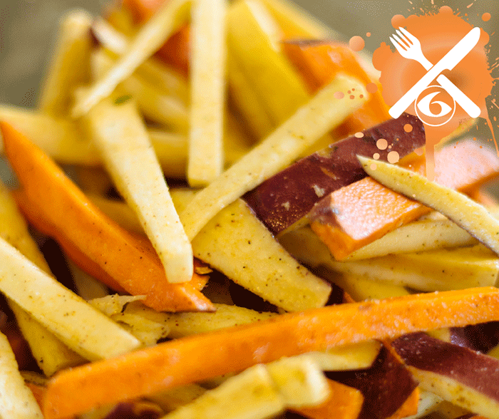 Baked Sweet Potatoes Fries