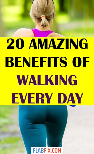 In this article, you will discover the amazing benefits of walking every day #walking #every #day #benefits #flabfix