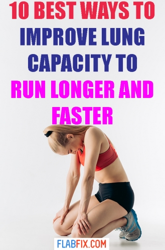 In this article, you will discover the best ways to improve lung capacity to run longer and faster #improve #lung #capacity #flabfix