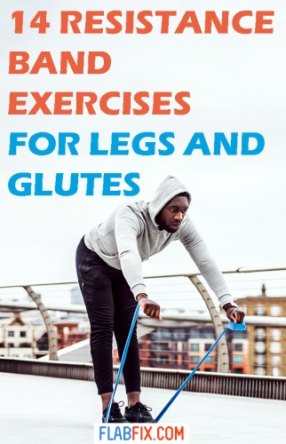 In this article, you will discover the best resistance band exercises for legs and glutes #resistance #bands #legs #glutes #flabfix
