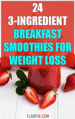 In this article, you will discover the best breakfast smoothies for weight loss #breakfast #smoothies #weightloss #flabfix