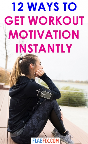 Read this article to discover ways to get workout motivation instantly #workout #Motivation #flabfix