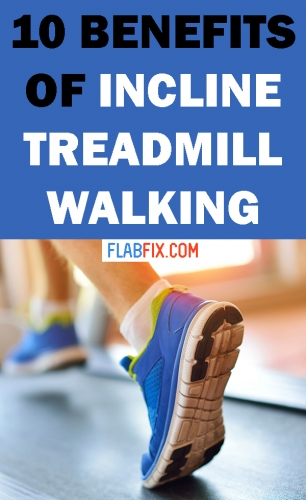 Read this article to discover the incredible benefits of incline treadmill walking #treadmill #walking #flabfix