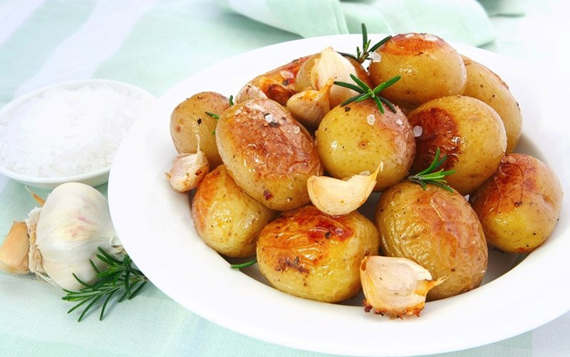 How to Roast Potatoes Without Boiling