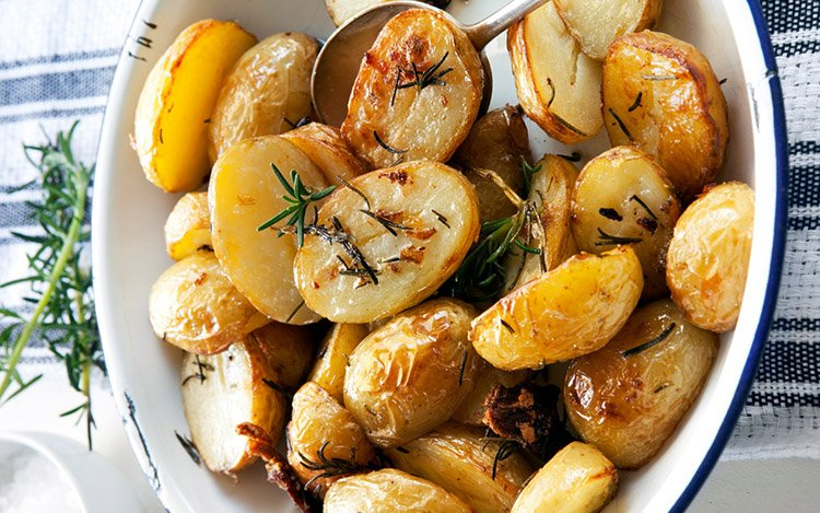 No Boil Italian Roasted Potatoes