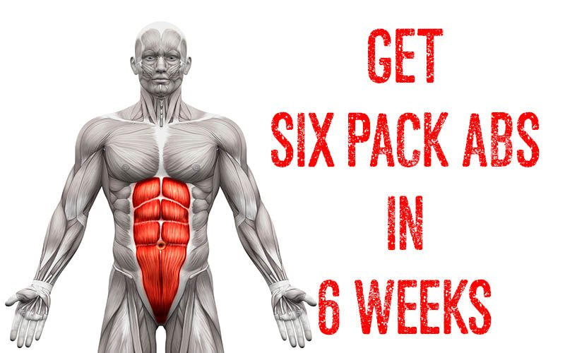 How to Go From A Flat Stomach to Six Pack Abs in 6 Weeks