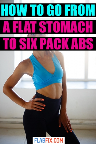 If you want to get abs, this article will show you how to go from a flat stomach to ripped six pack abs #flat #stomach #six #pack #abs #flabfix