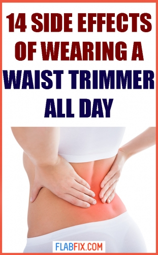 In this article, you will discover the side effects of wearing a waist trimmer all day #waist #trimmer #side #effects #flabfix