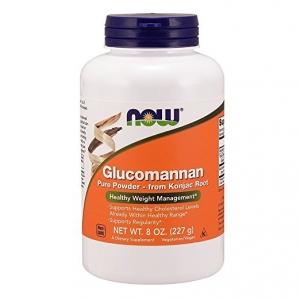 #4 NOW Foods Glucomannan Pure Powder