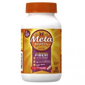 #5 Metamucil Daily Fiber Supplement, Psyllium Husk Capsules - fiber supplements for weight loss