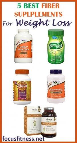 5 best fiber supplements for weight loss