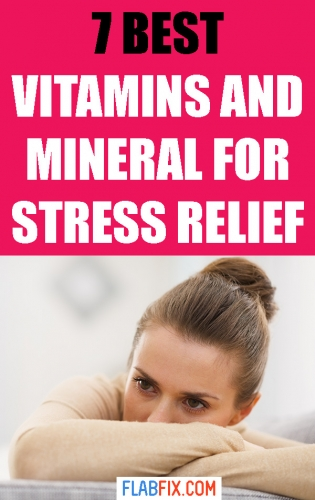 If this you want to ease stress, this article will show you the best vitamins and minerals for stress relief #stress #relief #vitamins #Minerals #flabfix