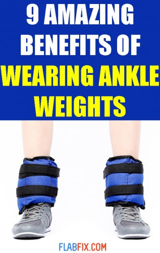 This article will show you the amazing benefits of wearing ankle weights #ankle #weights #benefits #flabfix