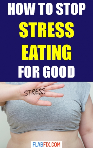 Use these simple tips to stop stress eating for good #stress #eating #flabfix