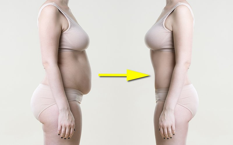 The fastest way to lose belly fat for women