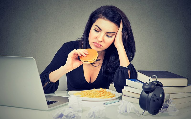 how to stop stress eating for good