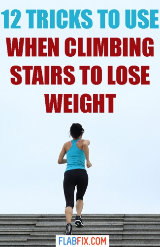 In this article, you will discover simple tricks you can use when climbing stairs to lose weight #climbing #stairs #weightloss #flabfix
