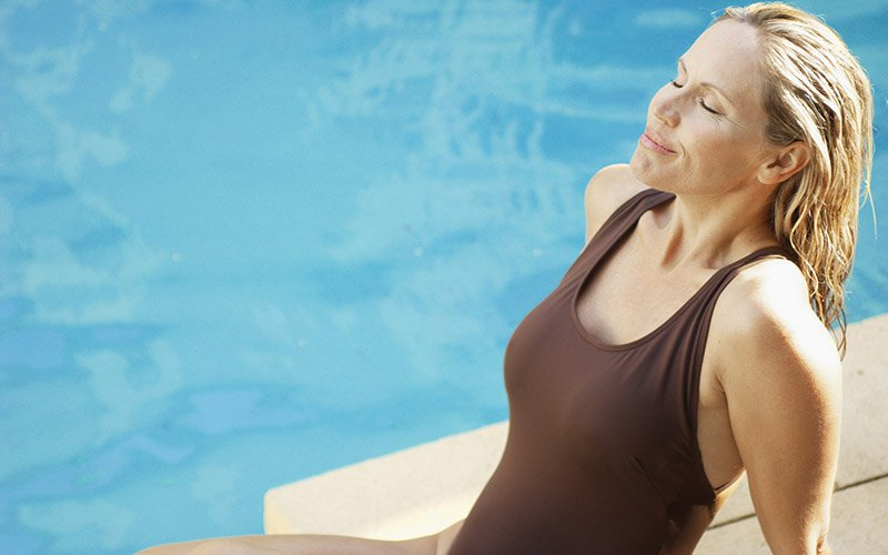 Tricks to use when swimming to lose belly fat
