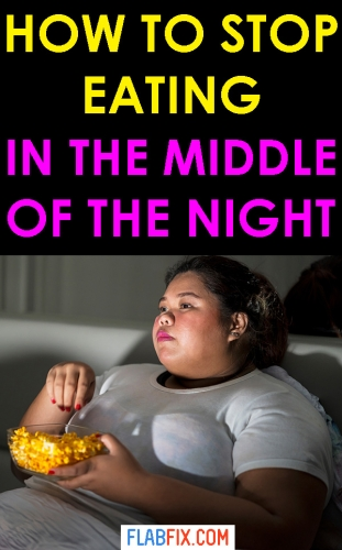 In this article, you will discover how to stop eating in the middle of the night #eating #night #flabfix
