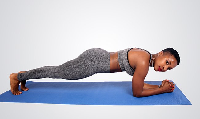 How to do elbow plank