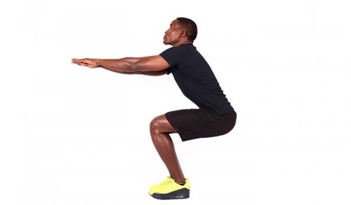How to do the squat hold
