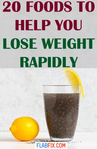 Read this article to discover simple foods to help you lose weight rapidly #weight #Loss #foods #flabfix