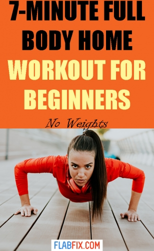 If you're a beginner, using this full body workout for beginners to boost your fitness #beginner #full #Body #workout #flabfix