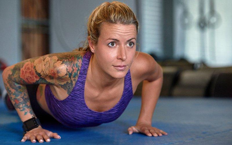 Intense bodyweight workout