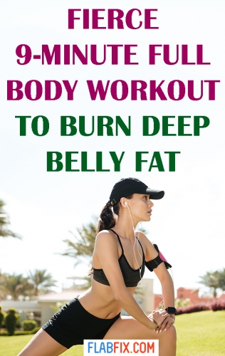 Do this fierce full body workout to burn deep belly fat while exercising at home #full #body #workout #deep #belly #fat #flabfix