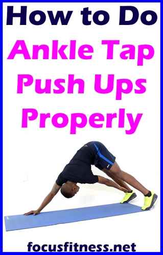 In this article, I will show you how to perform ankle taps push-ups, which is one of the most effective full-body exercises you can do without weights #ankle #tap #push #ups