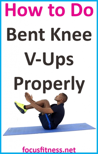 In this article, you will learn how to perform bent knee ups exercise to build your abs and strengthen your core muscles #bent #knee #v #ups