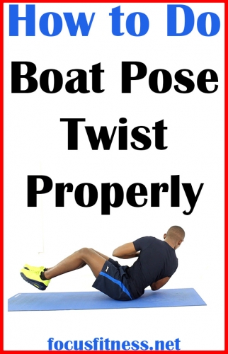 How to Do Boat Pose Twist