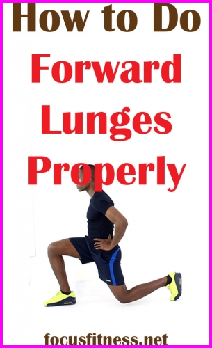 How to Do Forward Lunges
