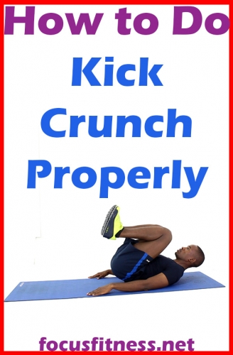How to do Kick Crunch